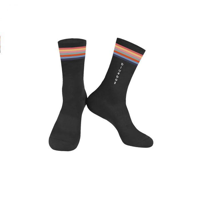 Black Knitting socks