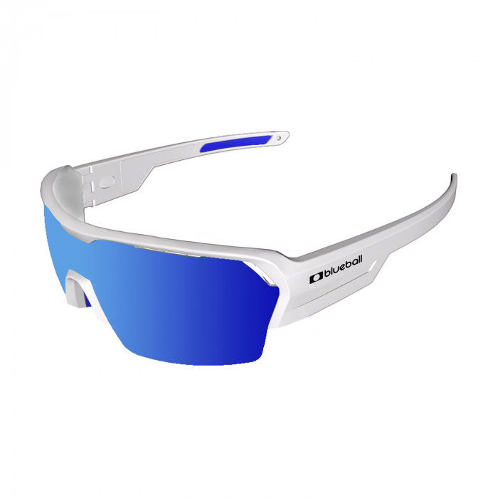 bb3800 outdoor sport sunglasses revo blue white side