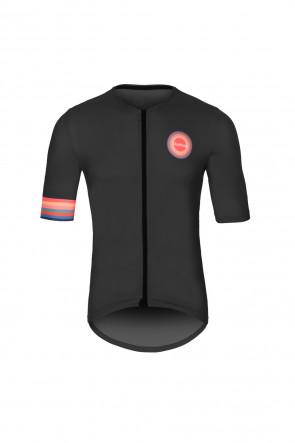 Black short sleeve with logo