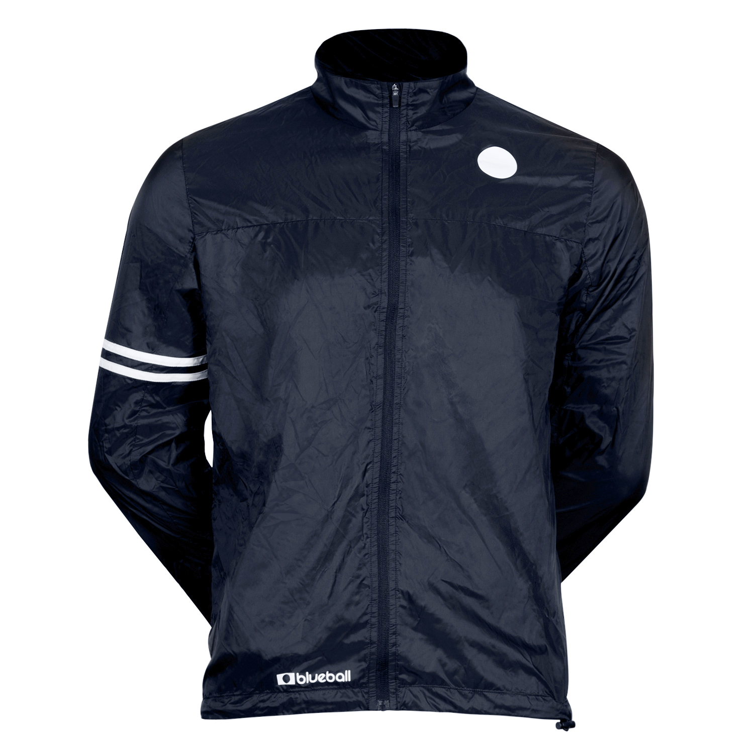 cycling windbreaker jacket without hood