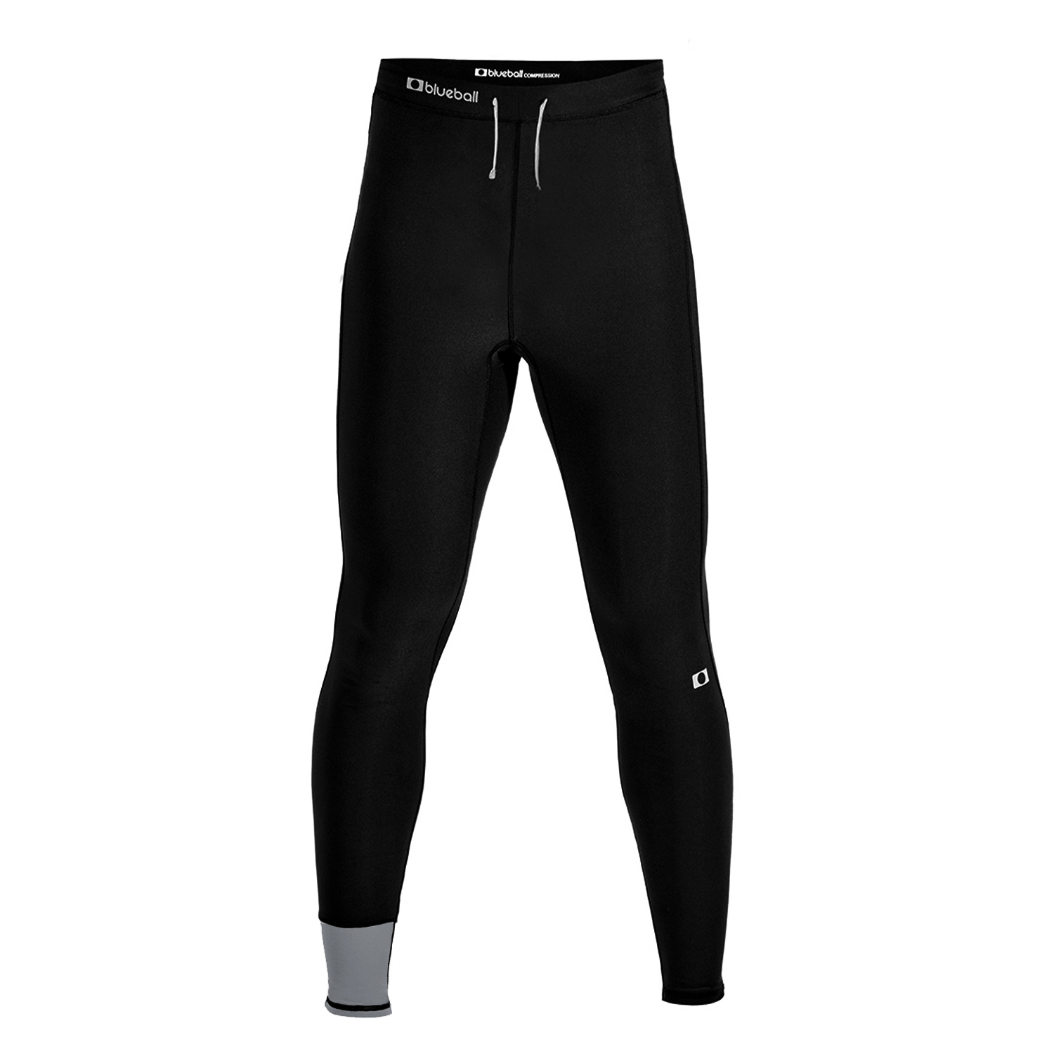 full length trail-running pants without print